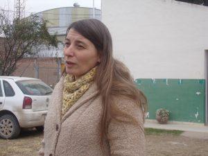 Alida Weht, presidenta de Las Omas